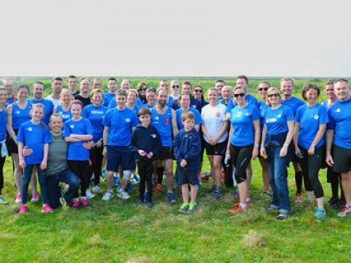 Team Striders - Southend Parkrun - 12th April 2014