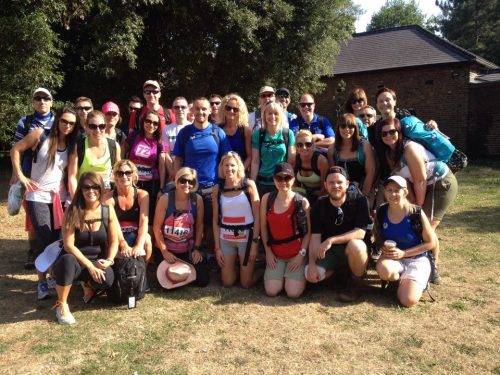 Team Striders - British Heart Foundation Charity Walk 2015