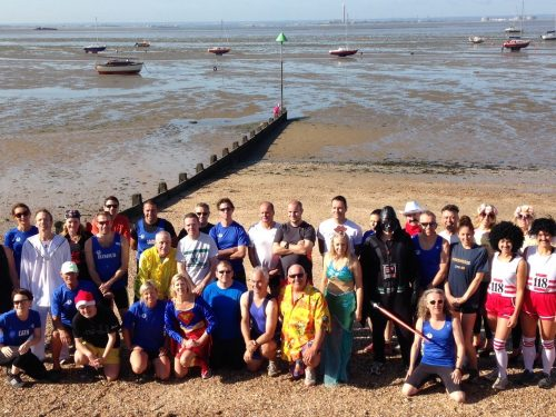 Team Striders - Mulberry Mud Run 2015 Harbour